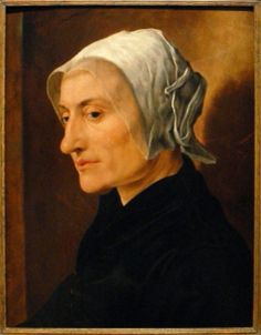 Portret van en oude vrouw, c. 1530, by Maerten van Heemskerck (Dutch, 1498–1574)