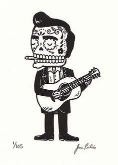 dias de los muertos Johnny Cash