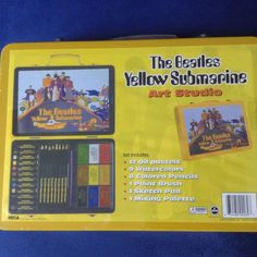 THE BEATLES YELLOW SUBMARINE ART STUDIO- Still Sealed- Cool Scarce Collectible!