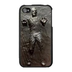 Steve Jobs in Carbonite Cover for iPhone 4 and 4s by BrownFamily09, $19.99