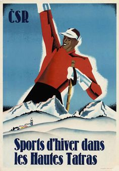 Ski Posters, All Poster, Travel Posters, Movie Posters, Vintage Ski, Vintage Travel, Vintage Posters, Retro Illustration, Advertising Poster