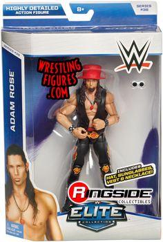 Adam Rose - WWE Elite 38 WWE Toy Wrestling Action Figure by Mattel