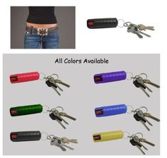 Plastic Keycase with Beltclip 12 Oz Pepper Spray  6 Great Colors -- Continue to the product at the image link.