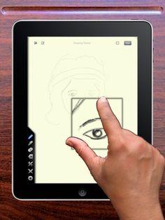 Free drawing app for iPad, Tactilis