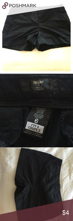 Black shorts Black shorts that have been barely worn Mossimo Supply Co Shorts