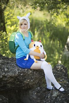 Fionna and Cake (Adventure Time)