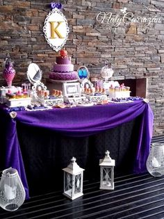 Descendants.Maleficent's daugther Birthday Party Ideas | Photo 14 of 15 | Catch My Party