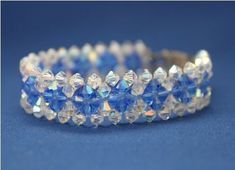Make Five Sparkling Right Angle Weave Beaded Bracelets