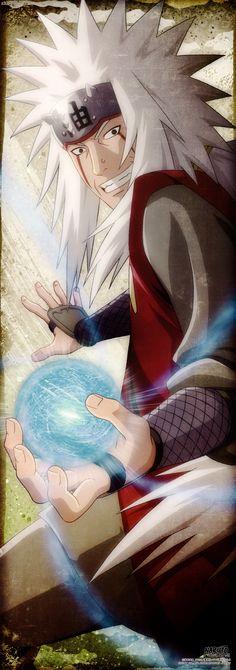 """Inclusive eu posso ver que tem muito ódio neste mundo. Quero fazer algo a respeito. ... Mais não sei de que maneira posso fazer... Mais mesmo assim creio que... em algum momento chegará o  día em que todas as pessoas se emtenderao umas as outras! Se não  posso encontrar a resposta ¡tú serás quem a encontrara"""" -Jiraiya a Naruto"""