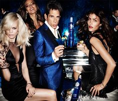 #Cîroc Vodka gets the #Testino Treatment to celebrate #Zoolander 2