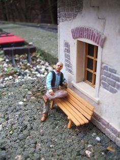 """Faire une figurine avec un kit """"cheminots"""" de Preiser"""