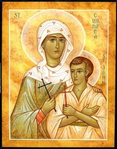 St Cleopatra and her son St John