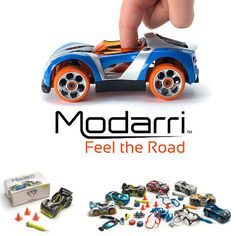 Modarri toy cars won the Best Toy in Show award from Popular Science in 2014. These cars can easily be taken apart and made into hybrids. Build your own at this year's New York Toy Fair! www.modarri.com #toys  #toyfairny #tf15