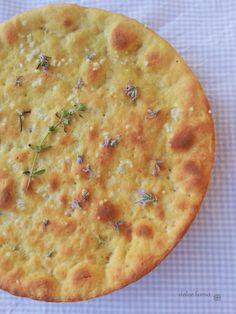 dolce forno: Focaccia con la farina di ceci