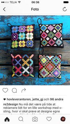 Bargello Needlepoint, Needlepoint Pillows, Cross Stitch Designs, Cross Stitch Patterns, Crochet Patterns, Palestinian Embroidery, Cross Stitch Pillow, Needlepoint Designs, Crochet Home