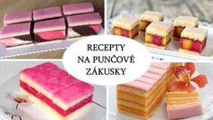 Desať receptov na punčové rezy | Tortyodmamy.sk Pavlova, Cooking Tips, Dessert Recipes, Punk, Baking, Breakfast, Cake, Sweet, Food