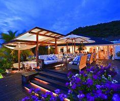 Hotel Saint-Barth Isle de France- St. Barts  -   Great island! Celebrated Michael's 40th birthday there.