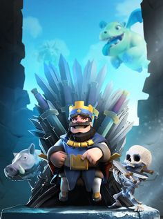 Clash Royale , Petar Milivojevic on ArtStation at https://www.artstation.com/artwork/Ybx1b