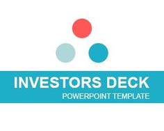 Investors Deck PowerPoint template is a free presentation template that you can download to prepare awesome presentations for Venture Capital firms or investors