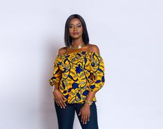 African Fashion Is Hot African Attire, African Wear, African Fashion Dresses, African Dress, African Outfits, African Style, African Blouses, African Tops, Ankara Tops