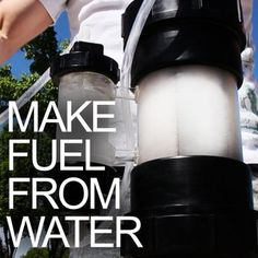 How to Convert Water into Fuel by Building a DIY Oxyhydrogen Generator. NOT an effective substitute for fossil fuels, unless you have no alternative AND free electricity (e., solar panel, hydroelectricity, etc. Alternative Energie, Alternative Fuel, Renewable Energy, Solar Energy, Solar Power, Hydrogen Generator, Water Powers, Energy Projects, Solar Projects