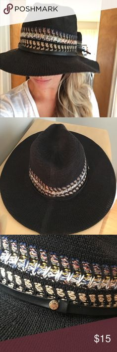 destin coach outlet 15w6  BCBG Black Hat