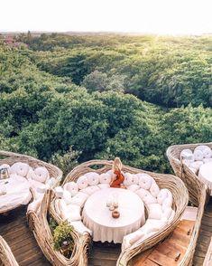 A Look Inside Azulik Tulum Treehouse Eco Resort – architecture Vacation Places, Vacation Destinations, Dream Vacations, Places To Travel, Best Vacation Spots, Honeymoon Places, Azulik Hotel Tulum, Azulik Tulum, Tulum Mexico Resorts