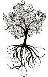Family Tree Tattoo - I like this idea but with an owl incorporated into it somewhere