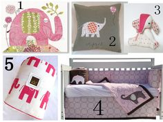 pink elephant nursery