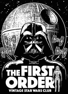The First Order (Vintage Star Wars Collectors Club) T-Shirt concept by…