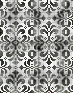 Fair isle Motifs – Knitting Bordado – The Best Ideas Fair Isle Knitting Patterns, Fair Isle Pattern, Knitting Charts, Knitting Designs, Knitting Stitches, Knitting Ideas, Filet Crochet, Crochet Motifs, Crochet Cross