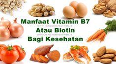 Manfaat Vitamin B7 Atau Biotin Bagi Kesehatan  Seperti vitamin lainnya, vitamin B7 memiliki manfaat sendiri untuk menyediakan kesehatan yang lebih baik bagi tubuh manusia. Manfaat kesehatan dari vitamin B7 dijelaskan secara lebih rinci di bawah ini. http://www.ramuanherbal.web.id/manfaat-vitamin-b7-atau-biotin-bagi-kesehatan/