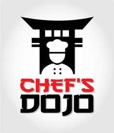 Conceptual logo for a Chef's hospitality service Logo Design, Graphic Design, Dojo, Portfolio Design, Hospitality, Portfolio Design Layouts, Visual Communication