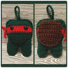 Ninja Turtle Tooth Fairy Pillow! Made with only a photo and a pattern of the…