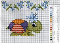 Pinned onto Baby Board in Embroidery Patterns Category Cross Stitch For Kids, Cross Stitch Cards, Cross Stitch Baby, Cross Stitch Alphabet, Cross Stitch Animals, Cross Stitching, Cross Stitch Embroidery, Embroidery Patterns, Cross Stitch Designs