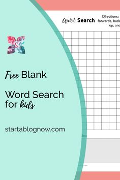 It's a unique time in our history. As I've struggled to help my children adapt to home learning, I've had to create fun kids' printables to help. Our Kids, My Children, Kids Word Search, Home Learning, How To Start A Blog, Elementary Schools, Fun Stuff, About Me Blog, Printables