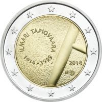 2 Euro 2014 Ilmari Tapiovaara and the art of Interior Design Finland Piece Euro, D Mark, Euro Coins, Coins Worth Money, Forex Trading Signals, Coin Worth, Commemorative Coins, Proof Coins, World Coins
