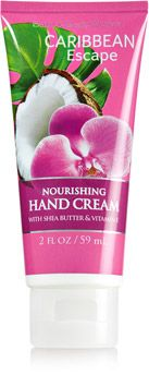 Caribbean Escape Nourishing Hand Cream - Soap/Sanitizer - Bath & Body Works