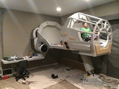 You're Allowed To Get Cocky If You Have This Millennium Falcon Bed — GeekTyrant