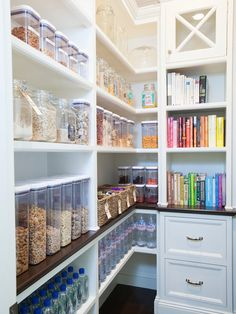 This one is for those who have OCD. You can now organize food stuff in your kitchen by placing them on glass containers, from cookies to cereals and desserts. Plus, you can even organize your cookbooks around the place for easy access.
