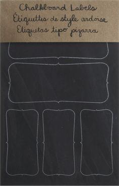 Chalkboard Sticker | Crate and Barrel