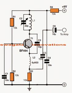 When it comes to making an FM receiver it's always thought to be a complex design, however the one transistor simple FM receiver circuit explained here simply shows that it […] Basic Electrical Wiring, Electrical Plan, Electrical Projects, Electronic Circuit Projects, Electronic Engineering, Electrical Engineering, Simple Electronics, Kids Electronics, Electronics Projects