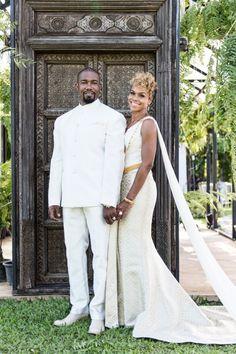 Celeb Michael Jai White and Gillian White Share Thailand Wedding