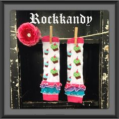 Cupcake+Ruffle+Birthday+Baby/Girl+Leg+Warmers+by+RockkandyKids,+$8.00