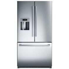 Bosch 800 Series 26 Cu. Ft. French Door Bottom Freezer-Stainless Steel-B26FT80SNS