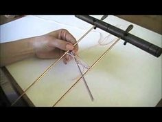 Learn Hairpin Lace - Making a Hairpin Lace Strip