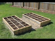 Creating a Raised Bed Garden Using Pallet Wood - 100% Free! - YouTube