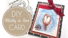 SIZZIX OTTERLY IN LOVE CLEAR STAMPS BUILD A SCENE LOVE FAMILY ANNIVERSARY FRIEND