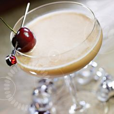 #Silkology Cherry Sleigh Ride w/soy, almond, or coconutmilk, bitters, agave, and cherries (optional: bourbon)