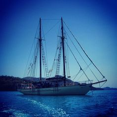 The Tallship Dewent Hunter, sailing in The Whitsundays by ronniek1 #thisisqueensland #instagram
